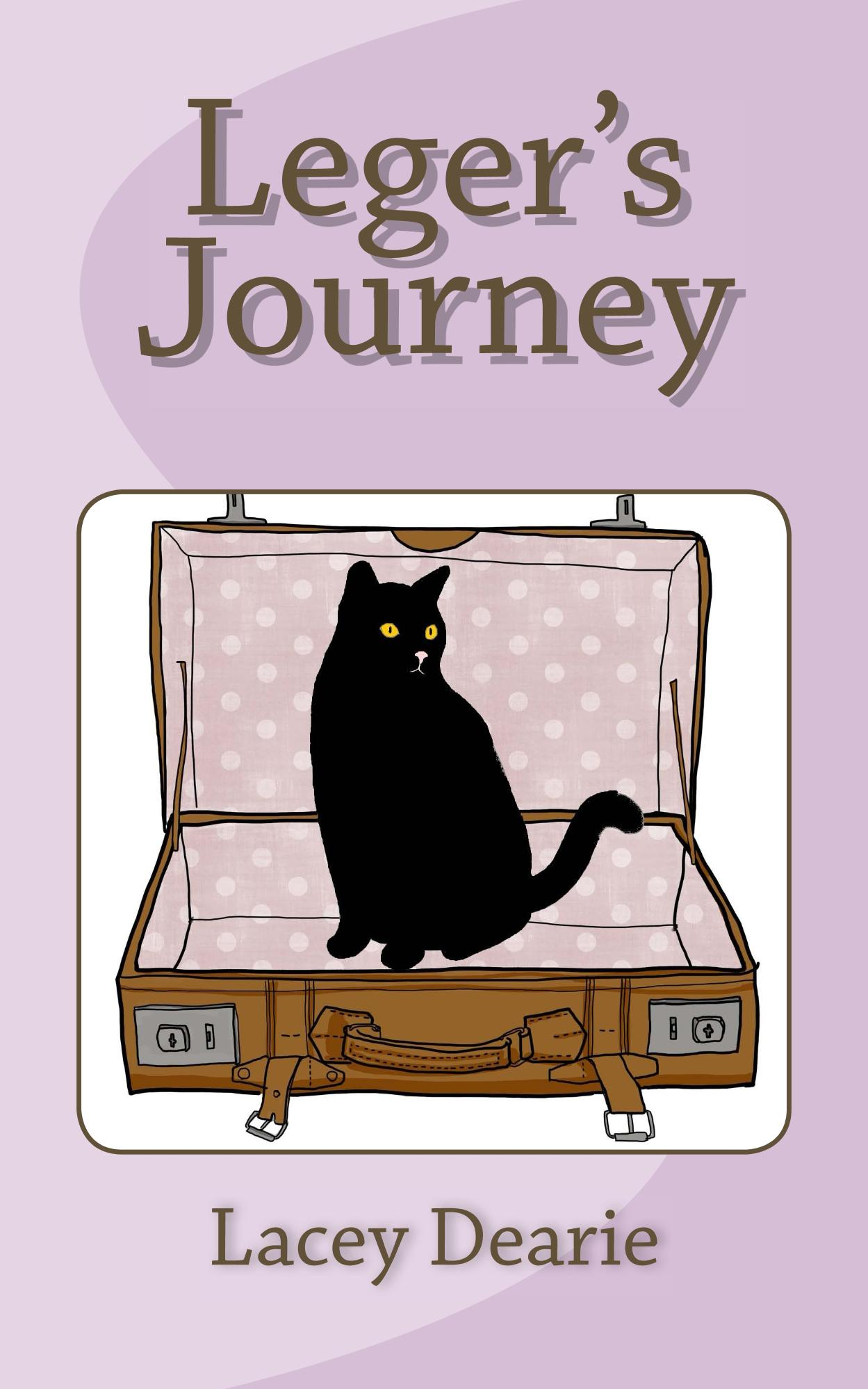 lacey dearie leger's journey cat sleuth