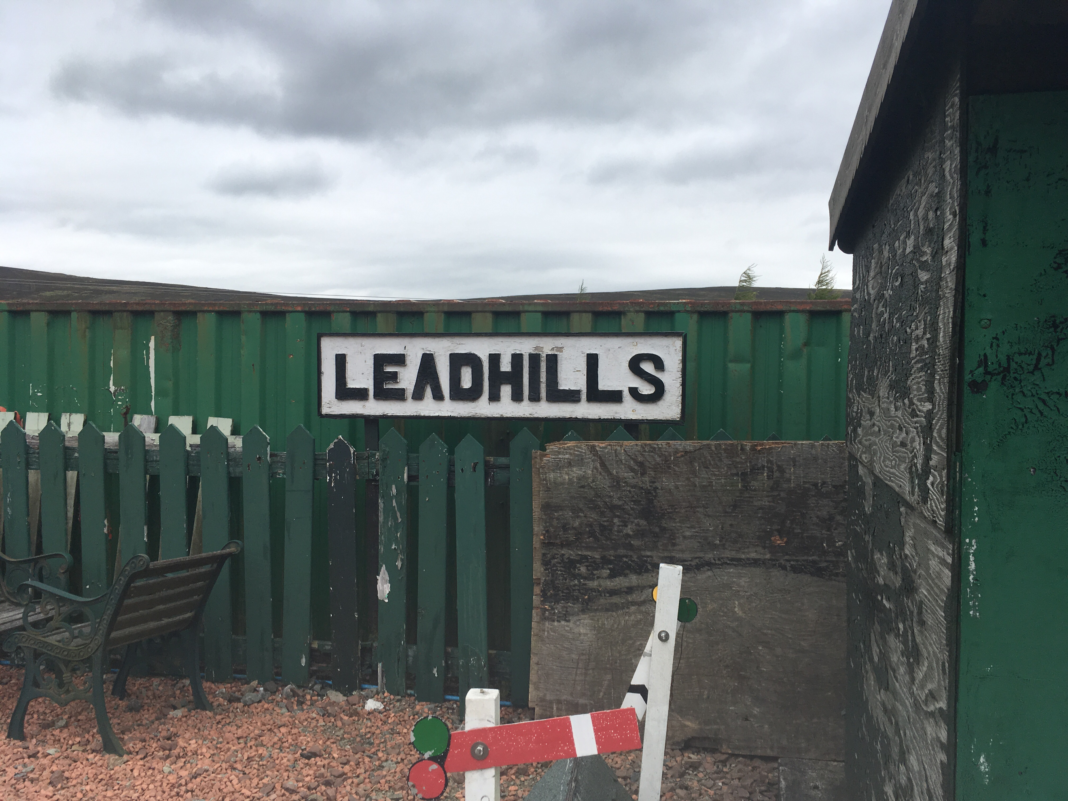 leadhills railway glengonnar review