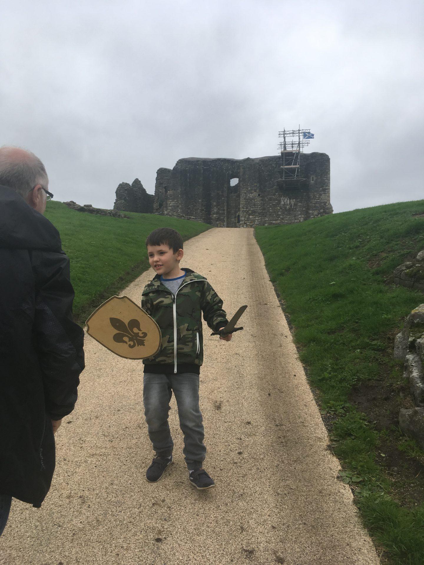 dundonald castle ayrshire scotland