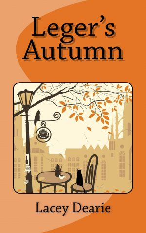 lacey dearie books leger's autumn fall cat sleuth story