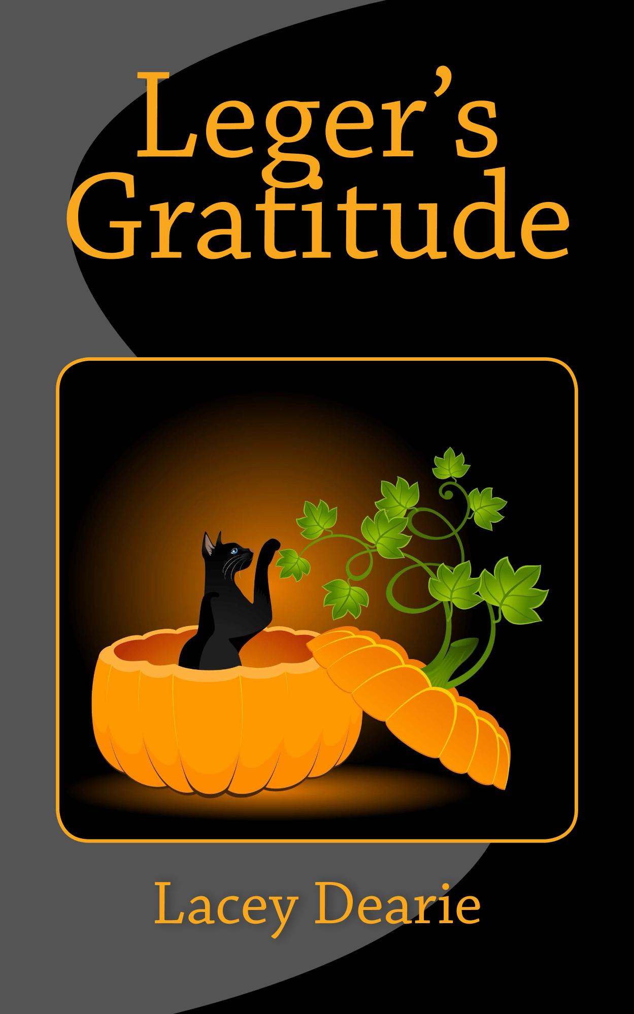 lacey dearie books leger's gratitude thanksgiving cat sleuth story