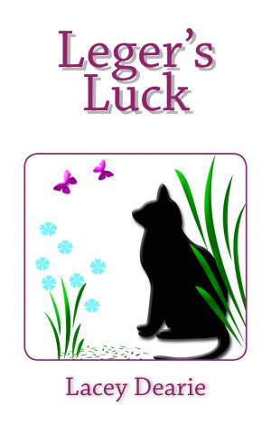 lacey dearie books seasonal cat sleuth story leger's luck spring st patricks day