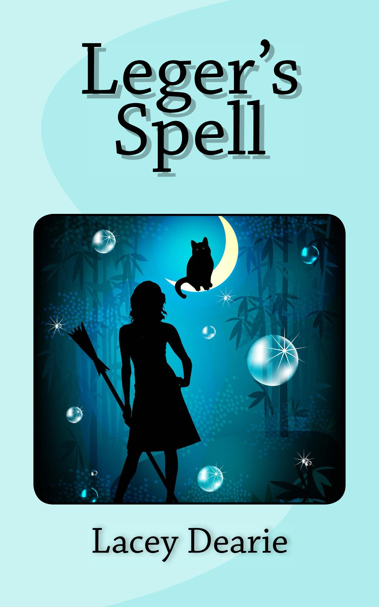 lacey dearie books seasonal cat sleuth story halloween leger's spell