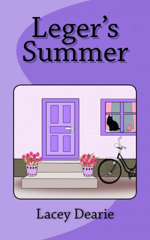 lacey dearie books leger's summer seasonal cat sleuth story