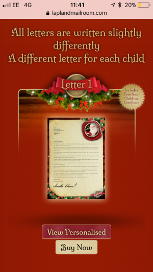 lapland mailroom letters from santa