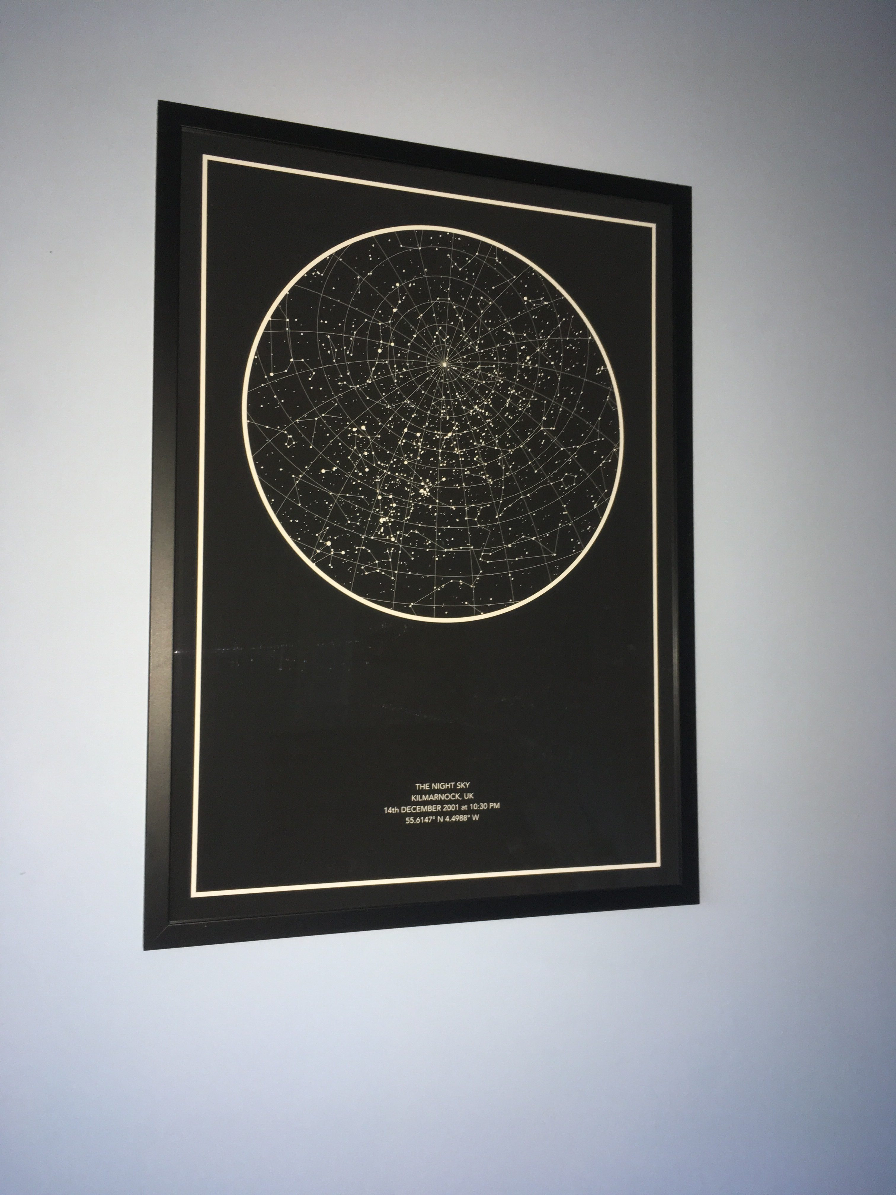 the night sky star chart review