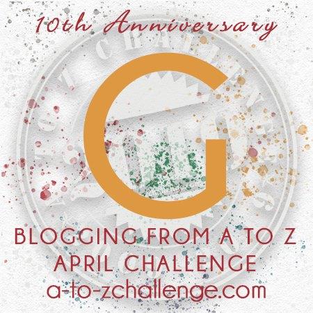 a to z blogging challenge 2019 g