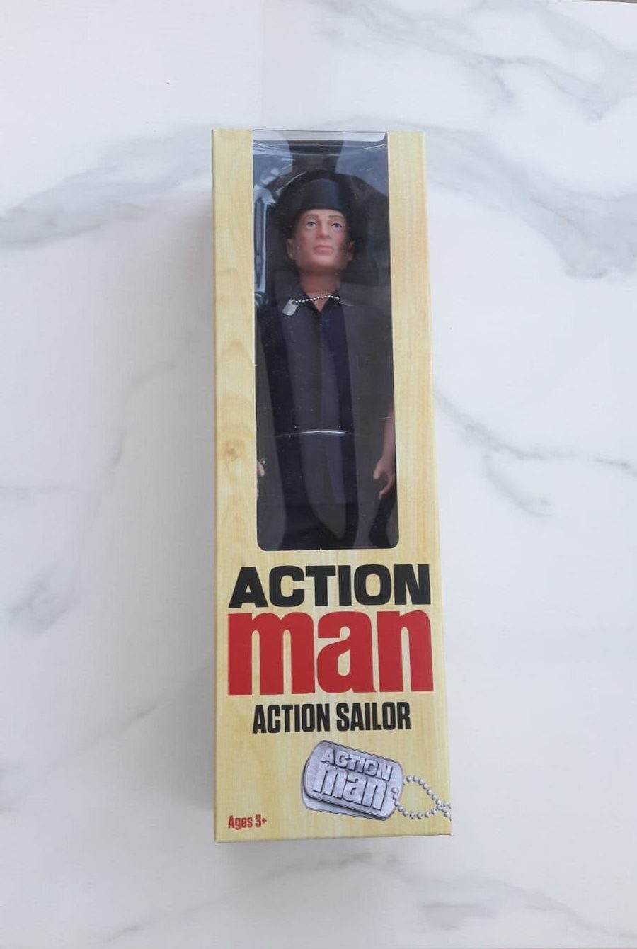 Classic Action Man sailor doll