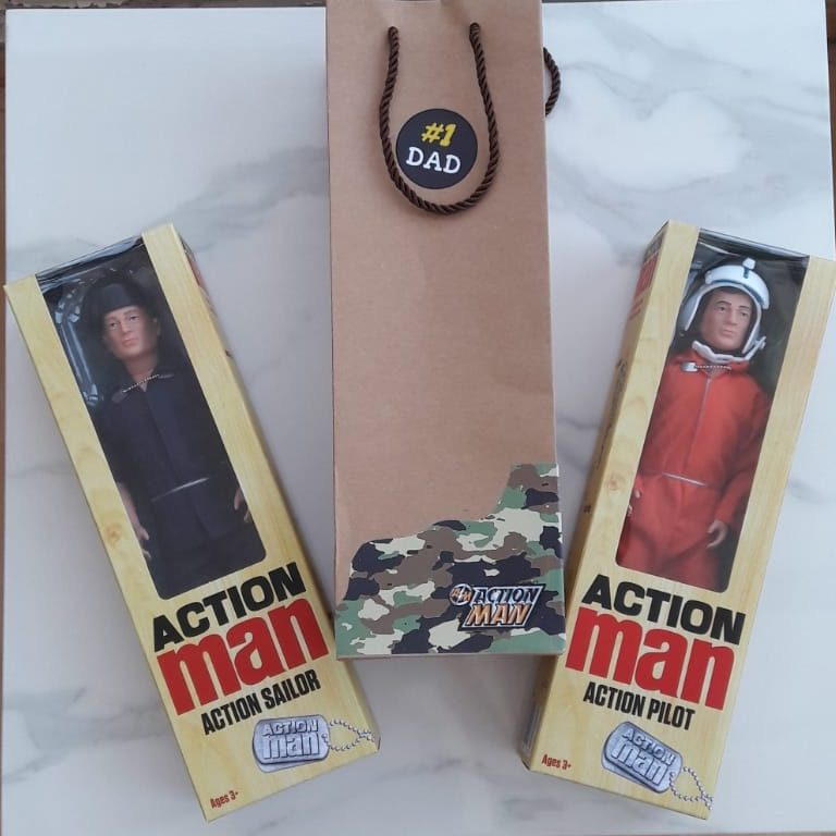 Classic Action Man dolls Soldier Pilot