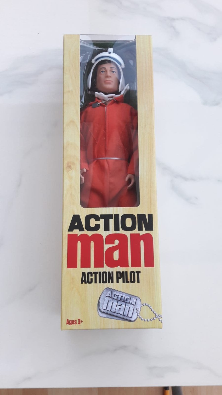 Classic Action Man Pilot Doll
