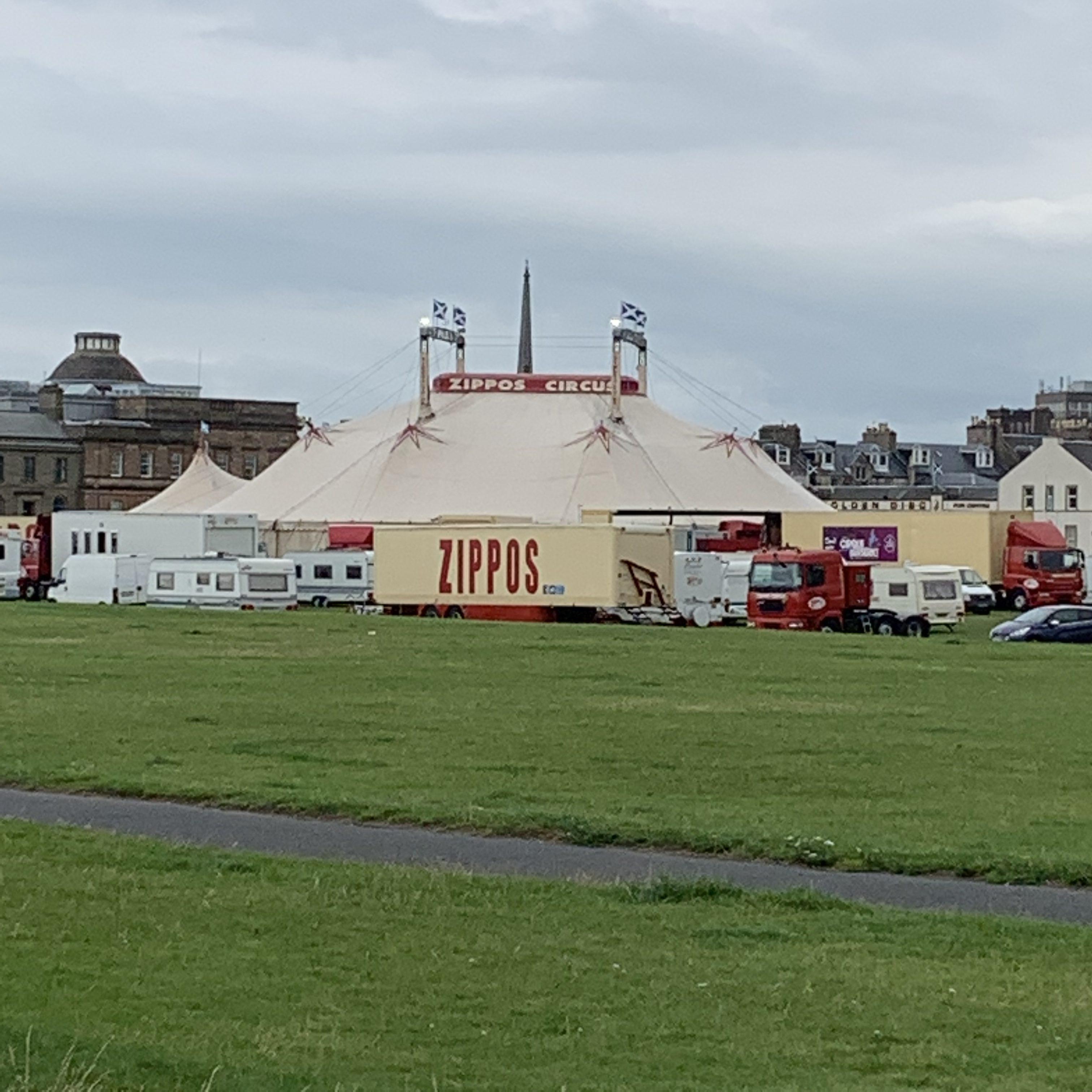 Zippos circus tent