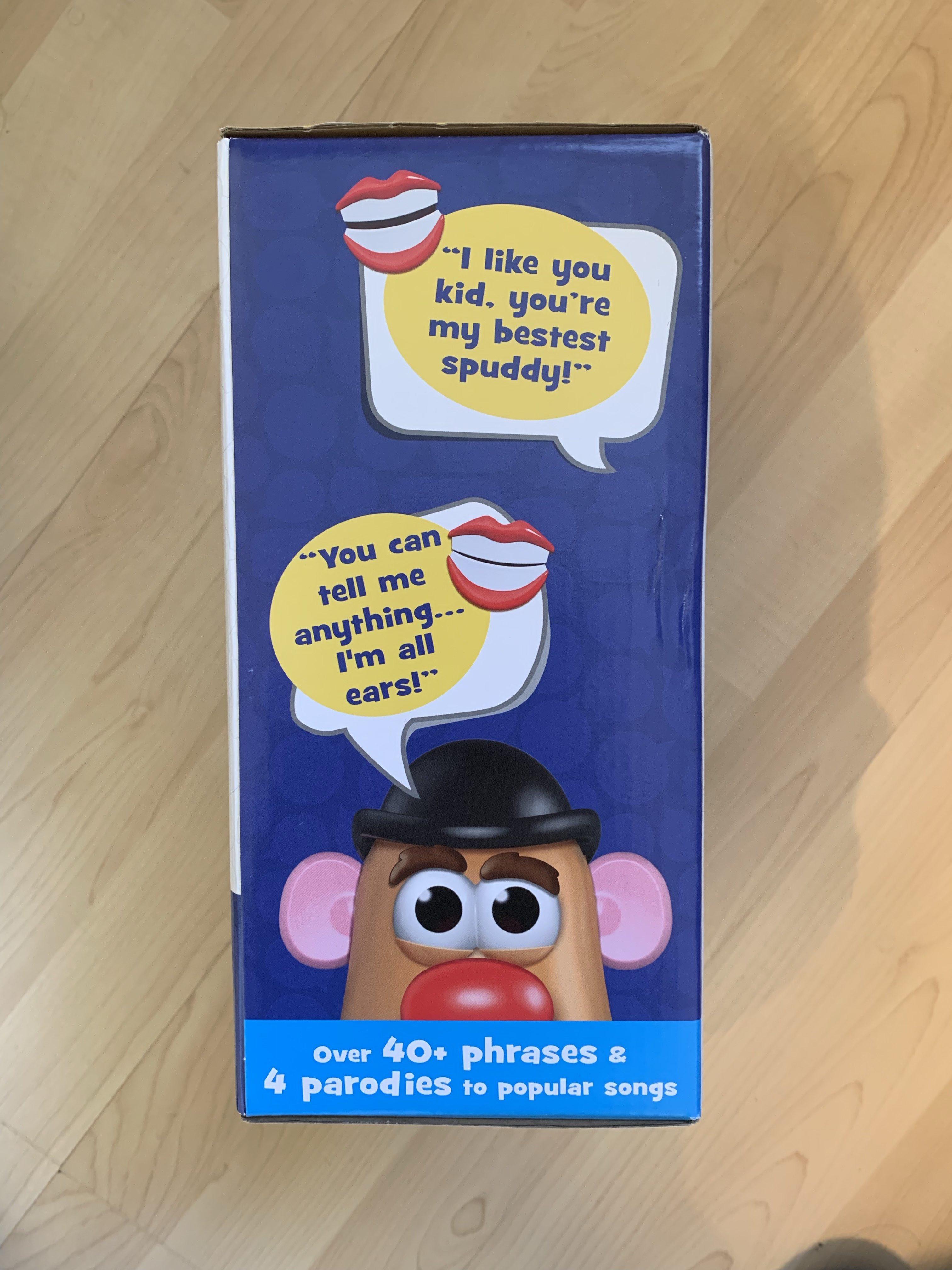 side of mr potato head box