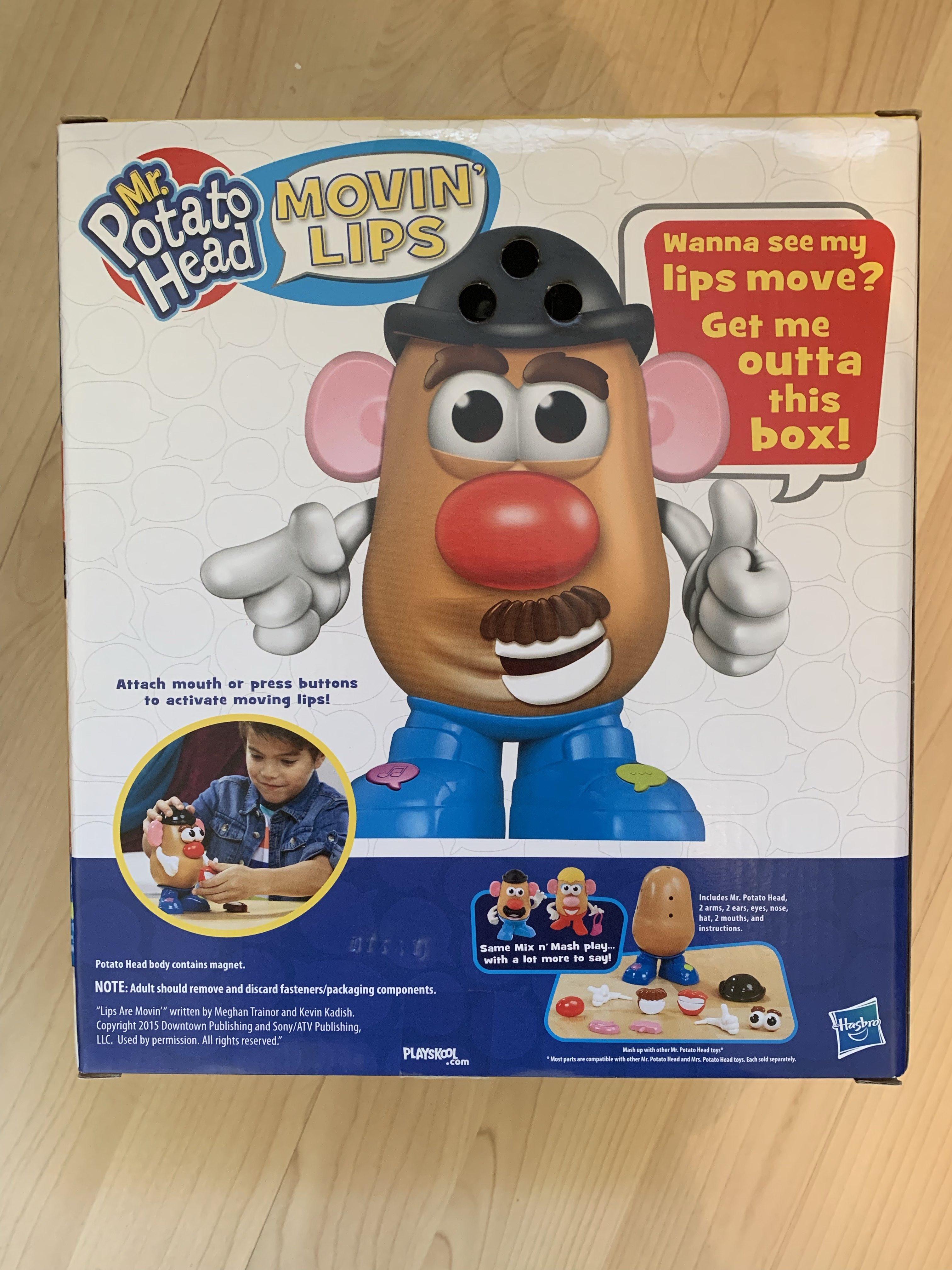mr potato head back of box